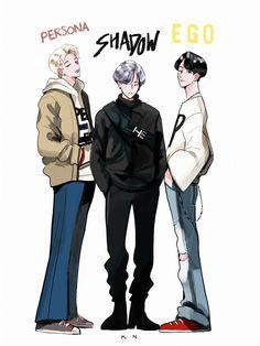 shadows of bts Bts Bangtan Boy, Jhope, Namjoon, Taehyung, Fanart Bts, Film Disney, 5 Anime, Rap Lines, Bts Drawings