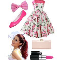 Ariana Grande inspired outfit - Polyvore