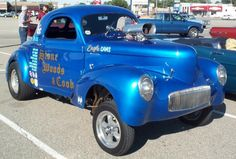 1941 Willys Stone Woods Cook