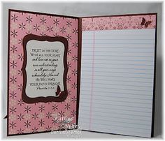 Note pad or legal pad cover