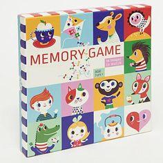 Petit Monkey Memory Game by Helen Dardik