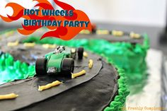 Simple Hot Wheels Themed Birthday Party