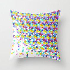 Colorful Throw Pillow - Funfetti Explosion, Neon, Throw Pillow Cover , 16x16, Neon Colors, Funfetti, Dorm Decor, Home Decor