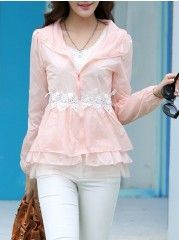 Dramatic Blended Pure Blouse