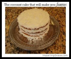 Imparting Grace: The cake that will make you famous