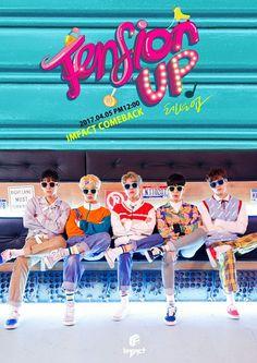 imfact tension up, imfact kpop profile members, imfact 2017 comeback, imfact 2017 comeback teaser