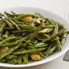Charred Green Beans Recipe - ZipList