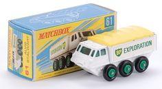 Lesney Matchbox 61b Alvis stalwart