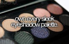 Own every sleek eyeshadow palette.