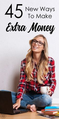 45 Ways to Make Extra Money (and how to work from home by starting a side hustle) by Natalie Bacon See for yourself the ways our team will aid you in finding the best solution to create a freedom. Make Money Fast, Ways To Save Money, Make Money From Home, Money Tips, Money Saving Tips, Make Money Online, Earn Extra Income, Extra Money, Extra Cash