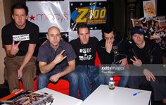 Simple Plan during Z100's Jingle Ball 2003 - Free Preview at Grand Ballroom…