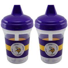 Minnesota Vikings 2-Pack 5oz. Sippy Cups