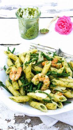 Pesto Sauce, Pasta Recipes, Dinner Recipes, Vegetarian Recipes, Healthy Recipes, Pizza, Pasta Dishes, Italian Recipes, Salads