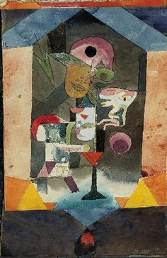 Paul Klee  Remembrance Sheet of a Conception
