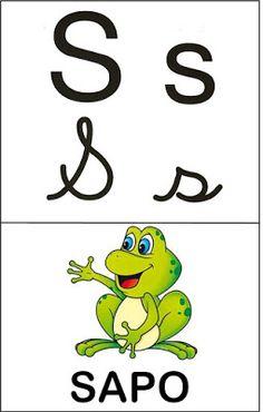 Aprender Brincando: Alfabeto ilustrado 2 Crafts For Kids, Education, Fictional Characters, Toddler Learning Activities, Reading Levels, Read Box, Printable Alphabet, Letter B, Cursive