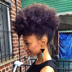 Nicollette // Transitioning Natural Hair Style Icon | Black Girl with Long Hair