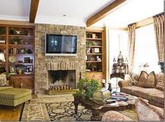 17 Best Stone Tv Fireplace Wall Images In 2013 Fire