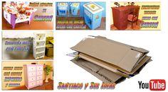 Muebles de cartón: Qué tipo de cartón se necesita y cómo conseguirlo