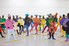 Artist Lubaina Himid has won the 2017 Turner Prize for her trio of exhibitions at Bristol's Spike Island, Modern Art Oxford and Nottingham Contemporary. Slavery Museum, Nottingham Contemporary, Black Arts Movement, Turner Prize, Atelier D Art, Arts Award, Black Artists, Modern Artists, Contemporary Artists