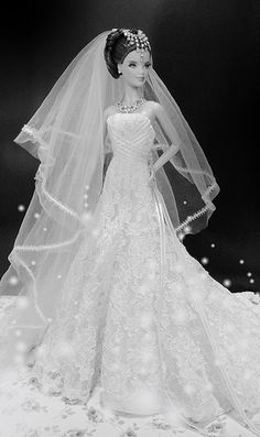 Reem Acra on Carolina's Bridal gown | by possiblezen