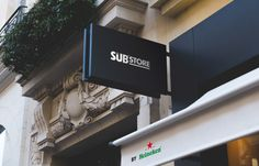 The Substore by Heineken 19 rue de la Verrerie, Paris 4ème.