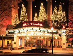 Ohio Theater exterior- oh the memories of dancing The Nutcracker there every Christmas!