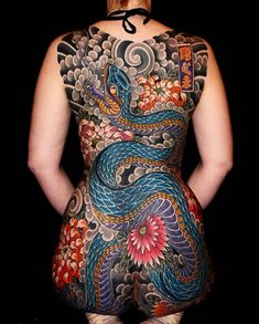"""3,023 Likes, 15 Comments - Japanese Ink (@japanese.ink) on Instagram: """"Japanese back tattoo by @stewart_modernclassic. #japaneseink #japanesetattoo #irezumi #tebori…"""""""