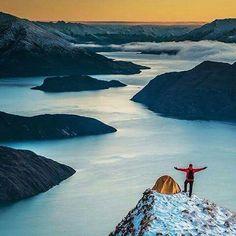 Wanaka Lake, New Zealand