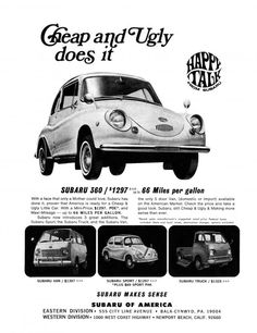 #TBT: 50 Years of Subaru Ads