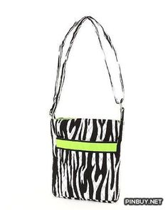 Belvah Quilted Zebra Print iPad-Tablet Hipster Crossbody Bag - Cross Body - Bags and Purses