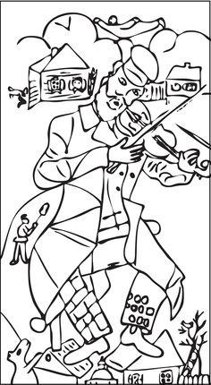 Chagall para pintar