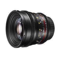 Walimex Pro 50 mm 1:1,5 VDSLR Video/Foto Objektiv für Canon EF Objektivbajonett (Filtergewinde 77 mm, Zahnkranz, stufenlose Blende, Fokus, IF) schwarz - http://kameras-kaufen.de/walimex-pro/walimex-pro-50-mm-1-1-5-vdslr-video-foto-objektiv-ef