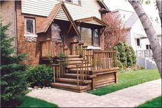 Front Porch Decks | Front Porch and Deck After