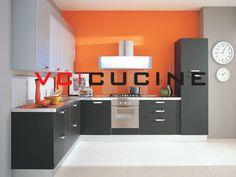Simple designed black L shape PVC kitchen joiner