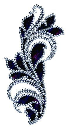(no title) # embroidery - (no title) # embroidery - Pearl Embroidery, Tambour Embroidery, Bead Embroidery Patterns, Hand Embroidery Designs, Embroidery Stitches, Machine Embroidery, Sewing Patterns, Ballroom Jewelry, Tambour Beading