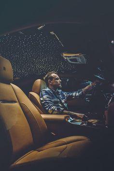 Rolls Royce night sky interior ♥_♥
