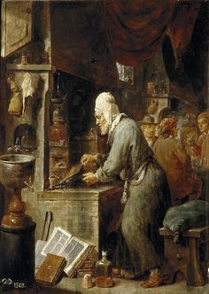 The Alchemist  David Teniers the Younger