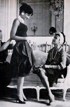 Lena Horne & Her Daughter GailShopping In Paris, 1960