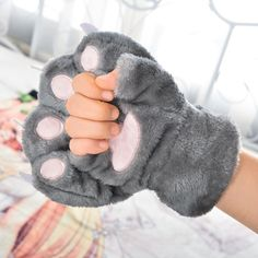 Girly Girl Boutique Gloves on Girly Girl の To Alice.Girly Girl Kawaii Cat-Paw Plush Gloves Cute Cosplay Acc Gg187 is a must to make an amazing outfit. You can wear it in any occasion - school, office, dates, and parties.