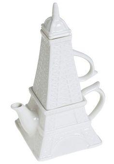 Bule de chá Torre Eiffel