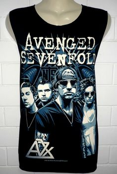 Avenged Sevenfold Band T Shirt Tank Top