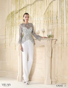Villais 2016 Spring Bridal Collection – The FashionBrides 2016 Wedding Dresses, Wedding Gowns, Wedding Trouser Suits, Wedding Pants, Bridal Collection, Dress Collection, Hijab Dress Party, Mother Of Bride Outfits, Evening Dresses