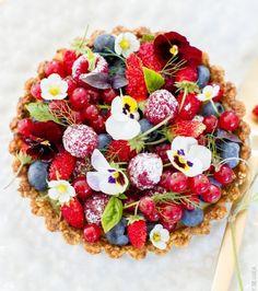 Fleurs comestibles : les plus jolies recettes trouvées sur Pinterest