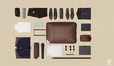 Louis Vuitton faz série tutorial em vídeo para uma mala de viagem perfeita