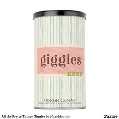 All the Pretty Things Giggles Hot Chocolate Drink Mix