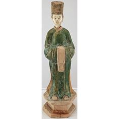 Antique Chinese Pottery Figurine