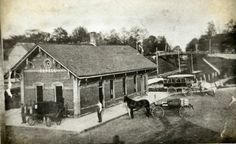 The Toledo, Ann Arbor and Northern Railroad came to Howell in 1885 and the depot built in the summer of 1886.