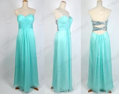 Mint Prom Dresses 2014 Prom Gown Strapless Sweetheart by Formals, $139.00