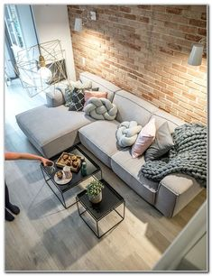 Actually, you just want to be in design house Stockholm furniture and accessories … - living room Living Room Modern, Home Living Room, Apartment Living, Living Room Designs, Living Room Decor, Living Spaces, Small Living, Cozy Apartment, Apartment Ideas