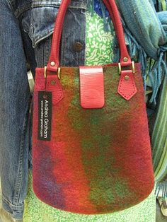 Felted Purse - Andrea Graham